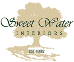 Logo, Sweet Water Interiors, Interior Design in Goshen, IN